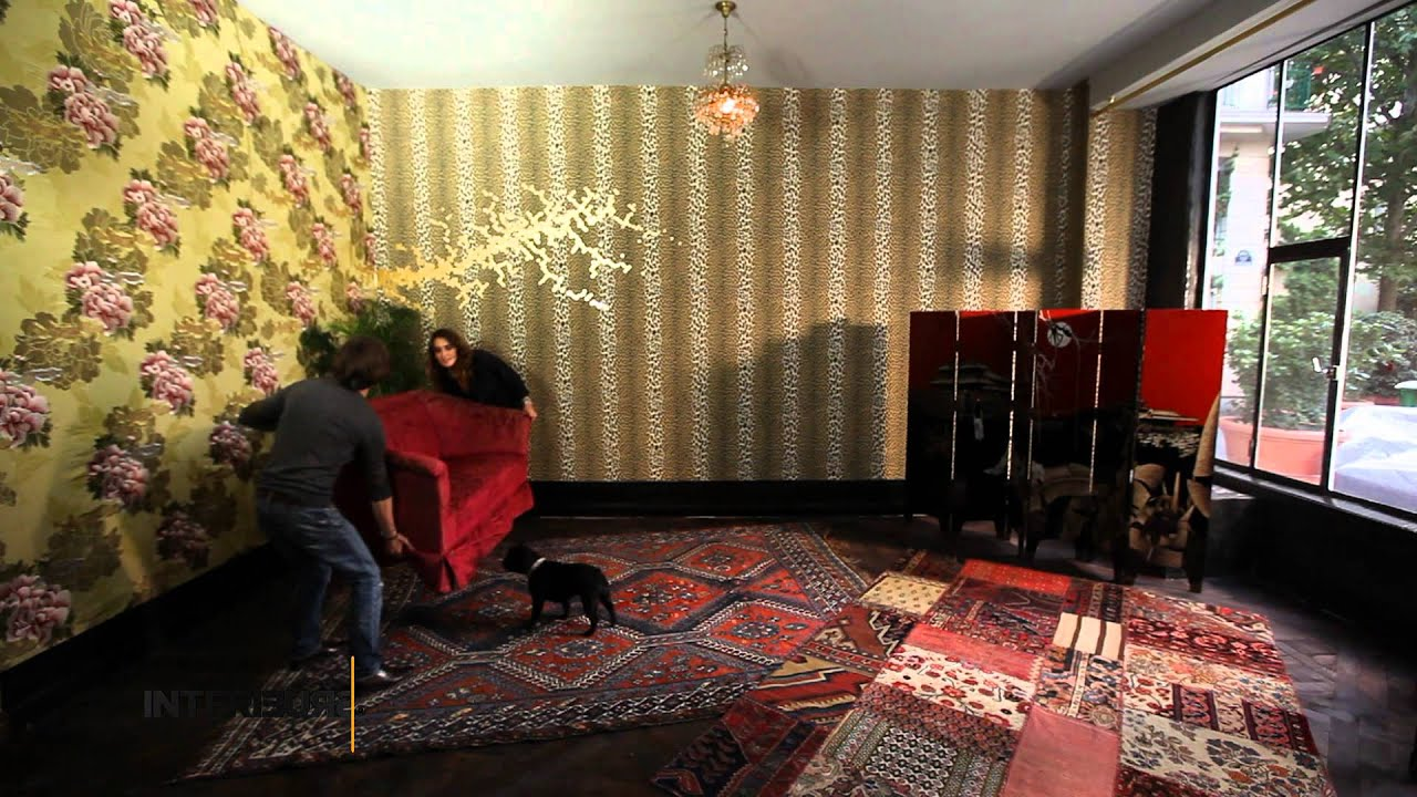 relooking laura gonzalez cr e un salon chinois youtube. Black Bedroom Furniture Sets. Home Design Ideas