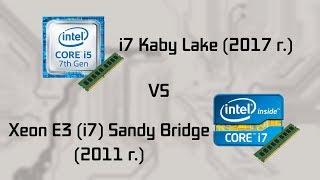 intel Sandy Bridge vs Kaby Lake (v.1.1)