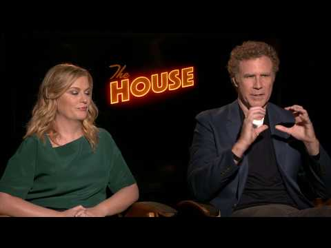 The House Amy Poehler & Will Ferrell Full Interview