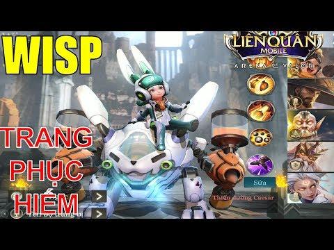 WISP Thỏ siêu quậy - Em gái Mèo siêu quậy VIOLET trang phục hiếm Liên quân mobile