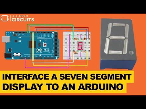 Interface a Seven Segment Display to an Arduino