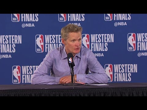Steve Kerr Postgame  - Game 4  Warriors vs Blazers  2019 NBA Playoffs