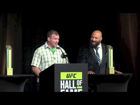UFC Hall of Fame Inductees: Matt Hughes and Frank Trigg