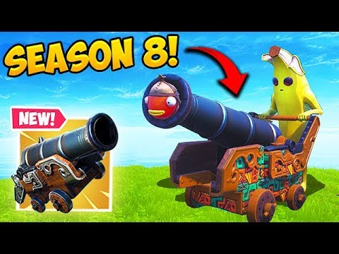 *NEW* PIRATE CANNON IS INSANE! - Fortnite Funny Fails and WTF Moments! #484