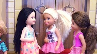 Chelsea's Friend is Salty ! Toys and Dolls Fun with Barbie Smart House that Talks