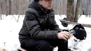 Ну, чем еще заняться зимой в лесу?!