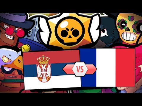 Brawl Stars Turnir u 5000 💰 Srbija vs Francuska | Qlash Invitational