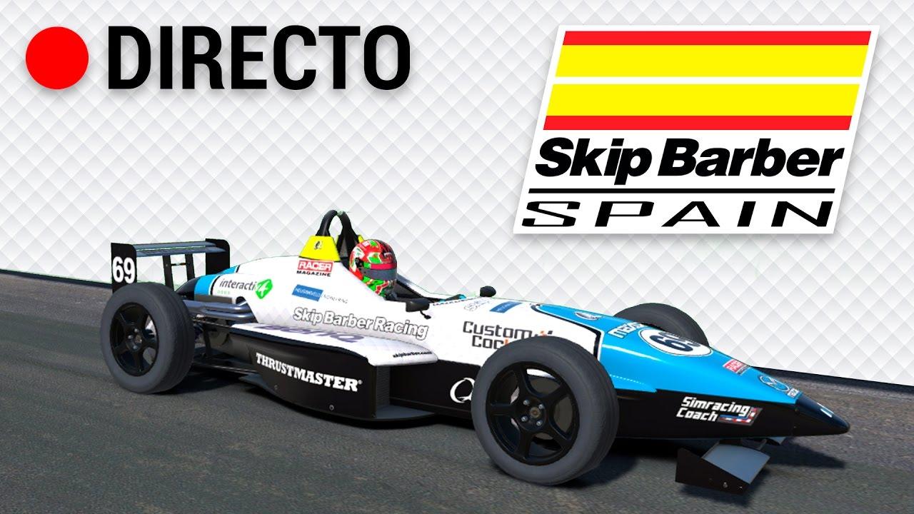 Iracing Skip Barber Spain Iberica Racing Team Multicam Race 1