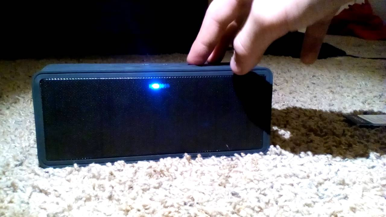 INSIGNIA NS-SPBTBRICK water resistant Bluetooth Speaker unboxing