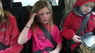 Girl crying after meeting Abby Lee