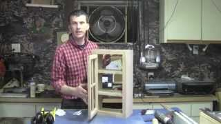 How To Build And Oak Knickknack Cabinet Part 3