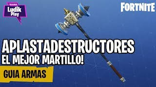 SMASH DESTROYERS, THE BEST HAMMER IN THE GAME! FORTNITE SAUVE LE MONDE GUIDE ESPAGNOL