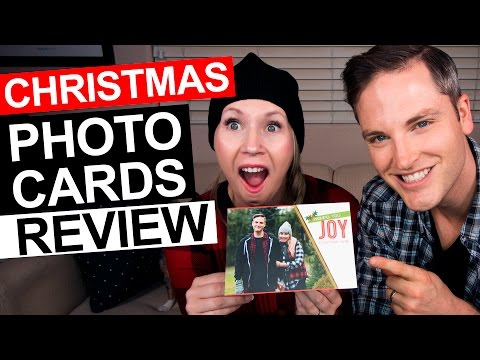 Christmas Photo Cards Review — Mixbook Holiday Cards