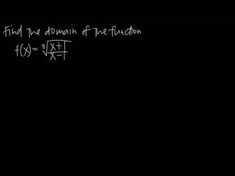 Finding the domain by investigating continuity (KristaKingMath)