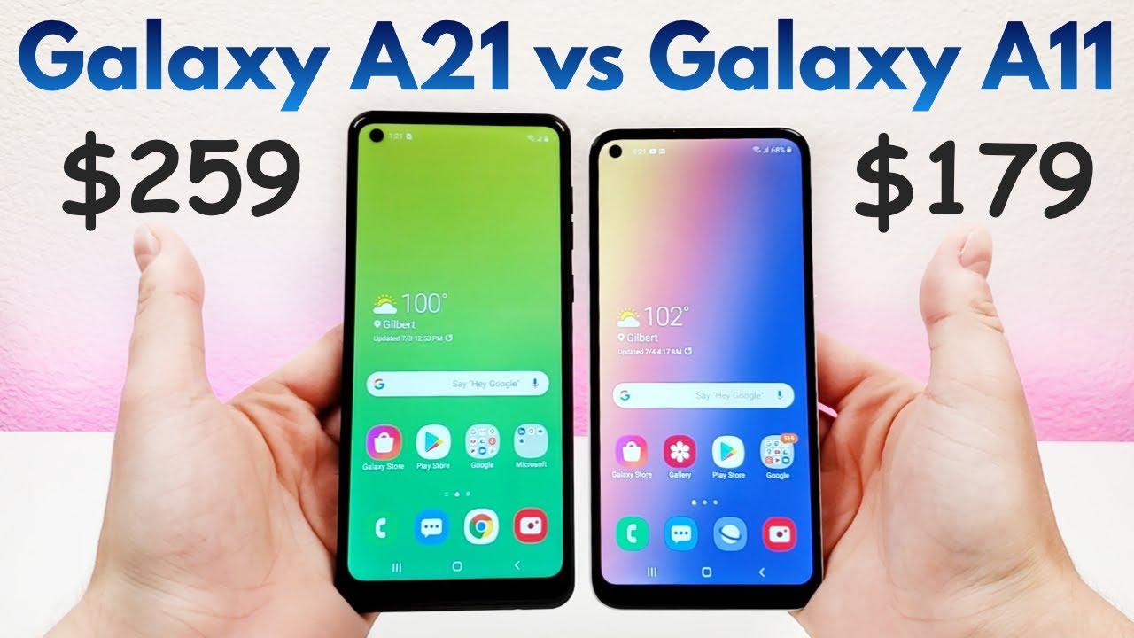 Y93 Vs Samsung Galaxy A11