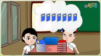 โจทย์ปัญหาการบวกและการลบ ตอนที่ 1 - สื่อการเรียนการสอน คณิตศาสตร์ ป.1