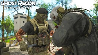 Ghost Recon Breakpoint STEALTH ELIMINATING THE HARDEST WOLF CAMP! Ghost Recon Breakpoint Free Roam