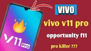 Vivo V11 Pro | India Launch, Specifications and Price | Oppo F9 Pro Killer?