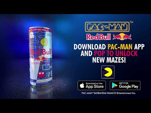PAC-MAN & Red Bull Special Edition Can Launch Trailer
