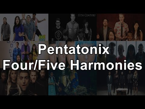 Pentatonix - Four/Five Part Harmonies