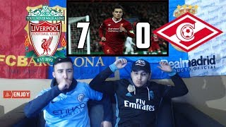 COUTINHO SHOW 🔥🔥- COUTINHO GUIDES LIVERPOOL TO 7-0 WIN - REACTION