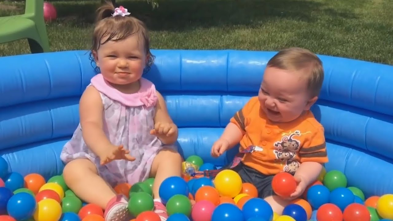 FUNNY KIDS Ball Pits FAILS! - You'll LAUGH ALL DAY LONG after this