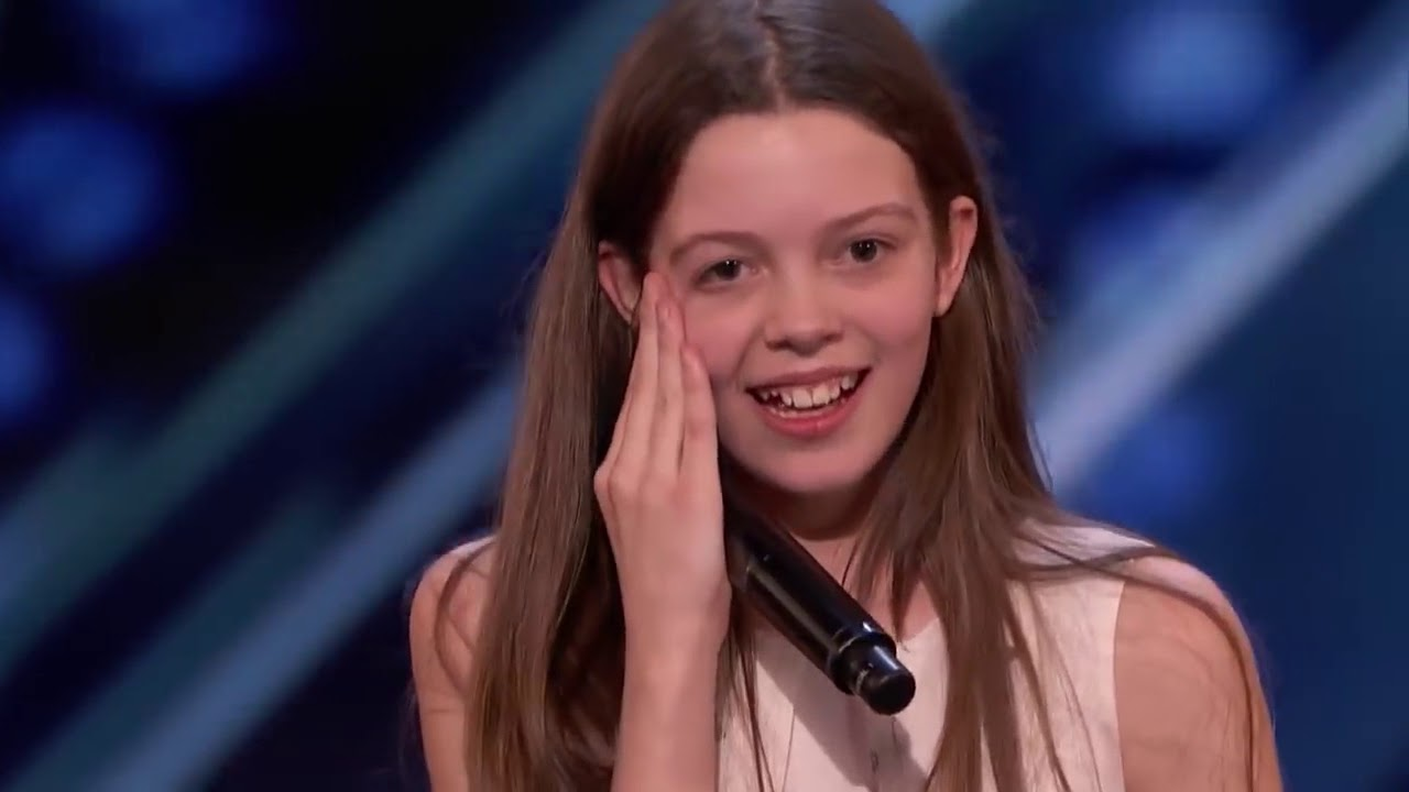 Shy Girl Turns Into A Singing Lion Gets Golden Buzzer -4318