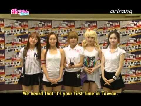 110531 걸스데이cut Arirang Showbiz Extra On Location Korea Taiwan Friendship Concert