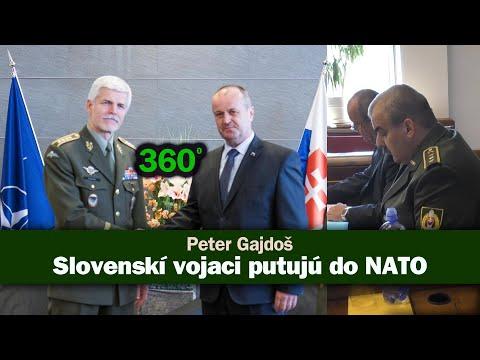 Minister obrany Peter Gajdoš: Slovensko pošle vojakov na misiu NATO (360°)