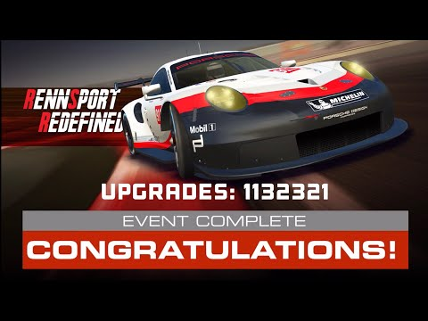 Real Racing 3 Rennsport Redefined Stage 6 Complete Upgrades 1132321 Total Cost 5 Gold