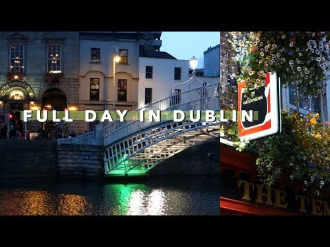 Tourist Day in Dublin ☘️ 🇮🇪 | Vlogust Day 17