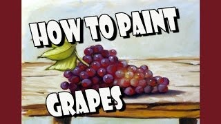 How To Paint : Grapes