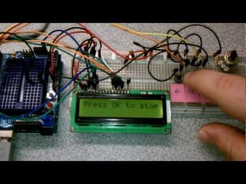 Arduino Blink with Menu