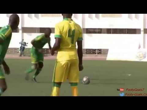 Mauritania 1 - 0 South Africa 2015. Ali Abeid Goal after Goalkeeper big fail.