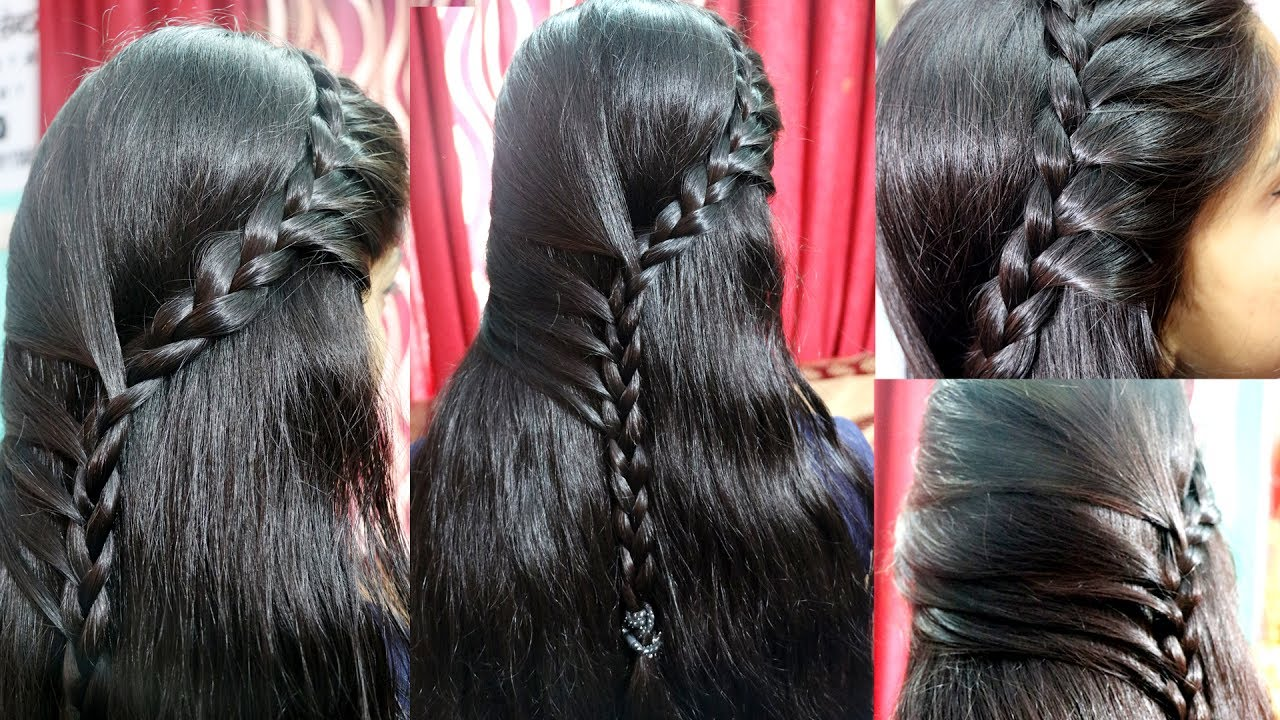side choti hair style new hair style with five side braids choti 6955