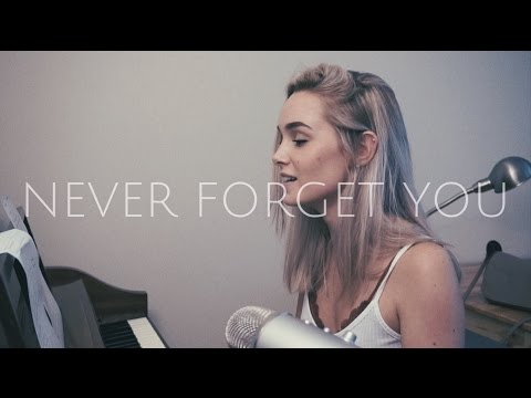 Never Forget You - Zara Larsson & MNEK (Cover) by Alice Kristiansen