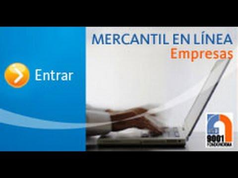 banco mercantil en linea
