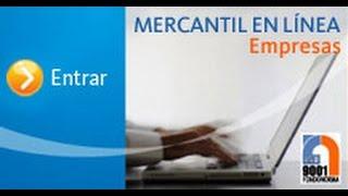 Como pedir referencia bancaria-MERCANTIL EN LINEA 2018