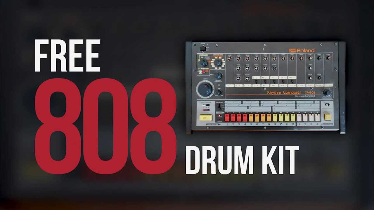 Free 808 Drum Kit ( 227 Drum Sounds )
