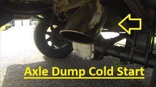 obs powerstroke cold start 8 axle dump