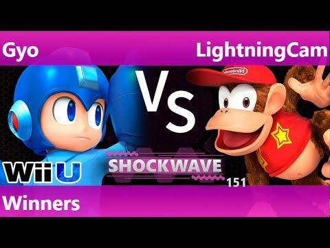 SW 151 - SWG | Gyo (Mega Man, ROB) vs LightningCam (Diddy) Winners - Smash 4