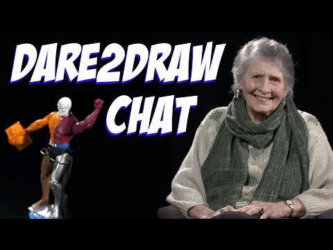 Ramona Fradon ► Episode 10 - Dare2Draw Chat [ FULL ]