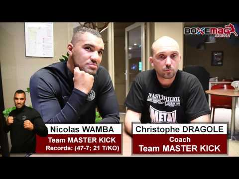 GLORY 35 - ITW Nicolas WAMBA et Christophe DRAGOLE