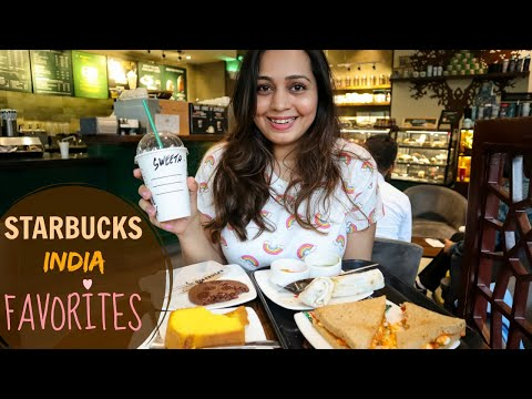 STARBUCKS MUMBAI Food, Coffee, Dessert | Favorites From Starbucks India Menu