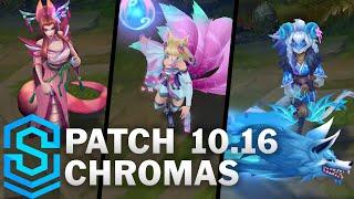 Spirit Blossom Chromas | Patch 10.16 Chromas, Ahri, Kindred, Cassiopeia, Yone and Riven
