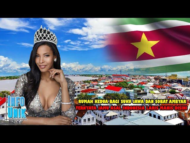 7 Fakta Unik Negara Suriname