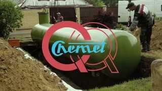 Газгольдер для частного дома под ключ в СПб цены