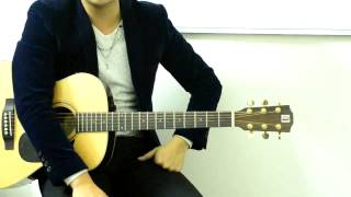Hướng dẫn tự tập guitar đệm hát cơ bản bài 5_2 - cách chơi nhịp 3/4