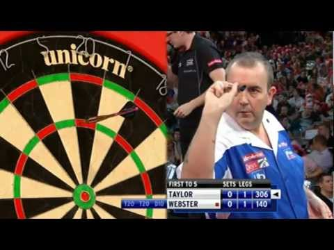 Phil Taylor vs. Mark Webster HD Full Match PDC WDC 2011