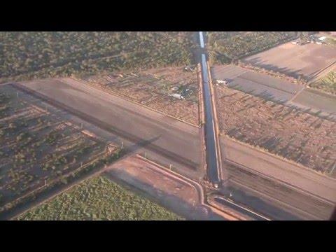 Take-off from Bundaberg Airport, Queensland, Australia - 31st August, 2015